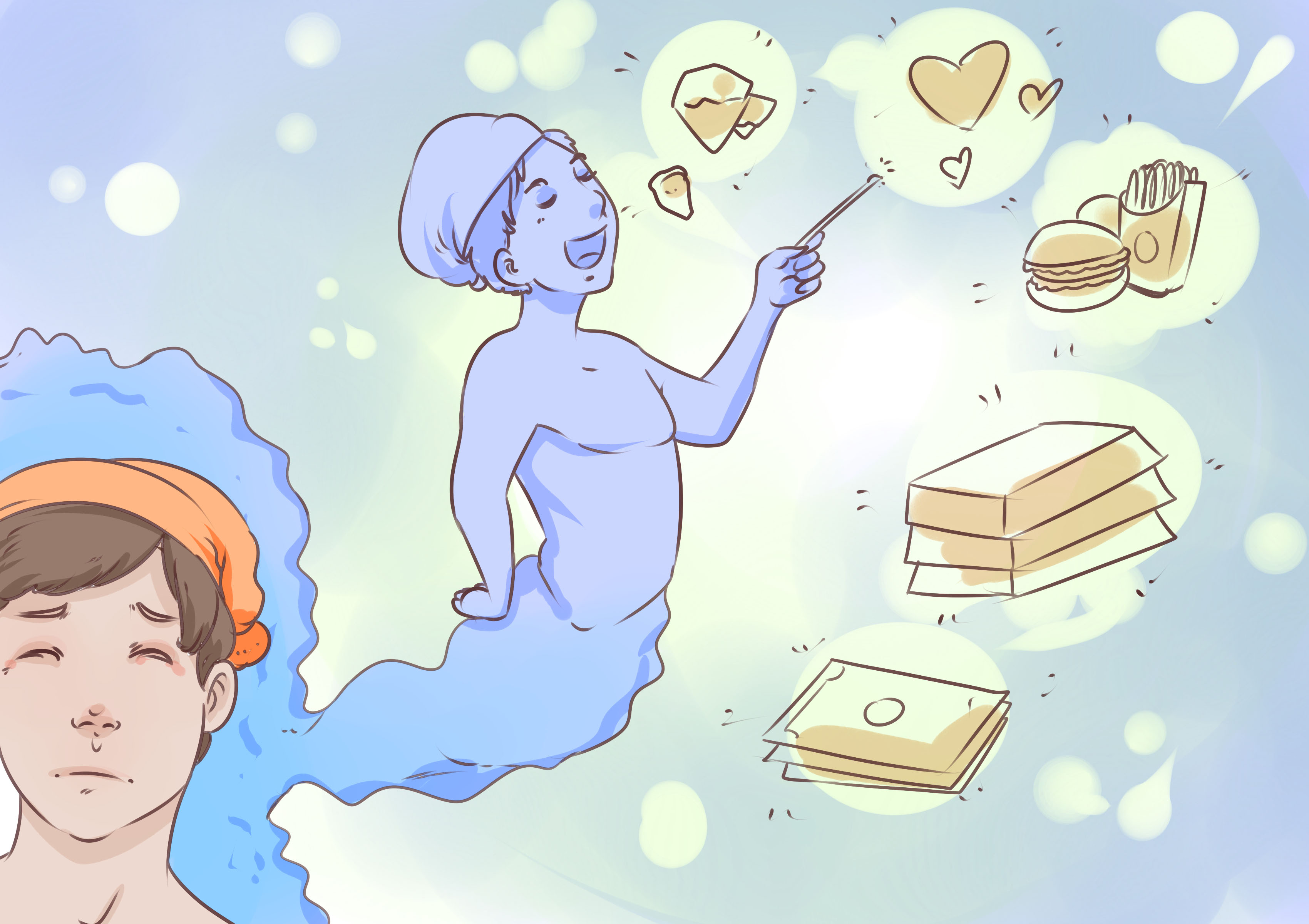 MEANING OF EATING FOOD WITH STRANGERS IN THE DREAM