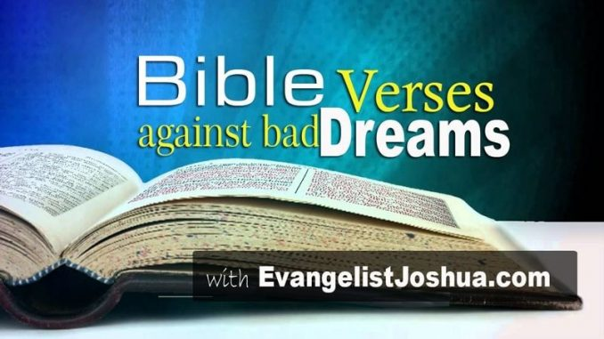 Bible Verses Against Eating In The Dream - Evangelist Joshua