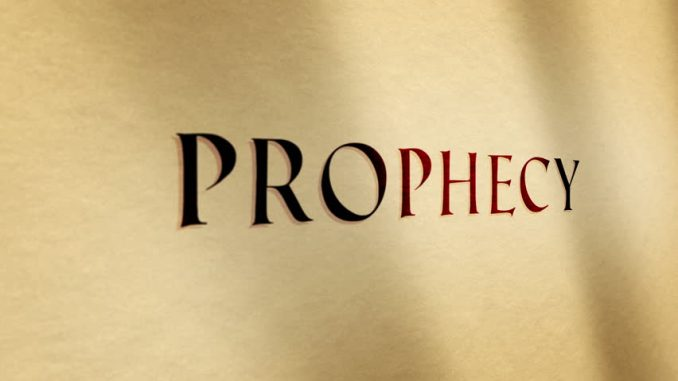 30 Days Prophecies for the Month of November