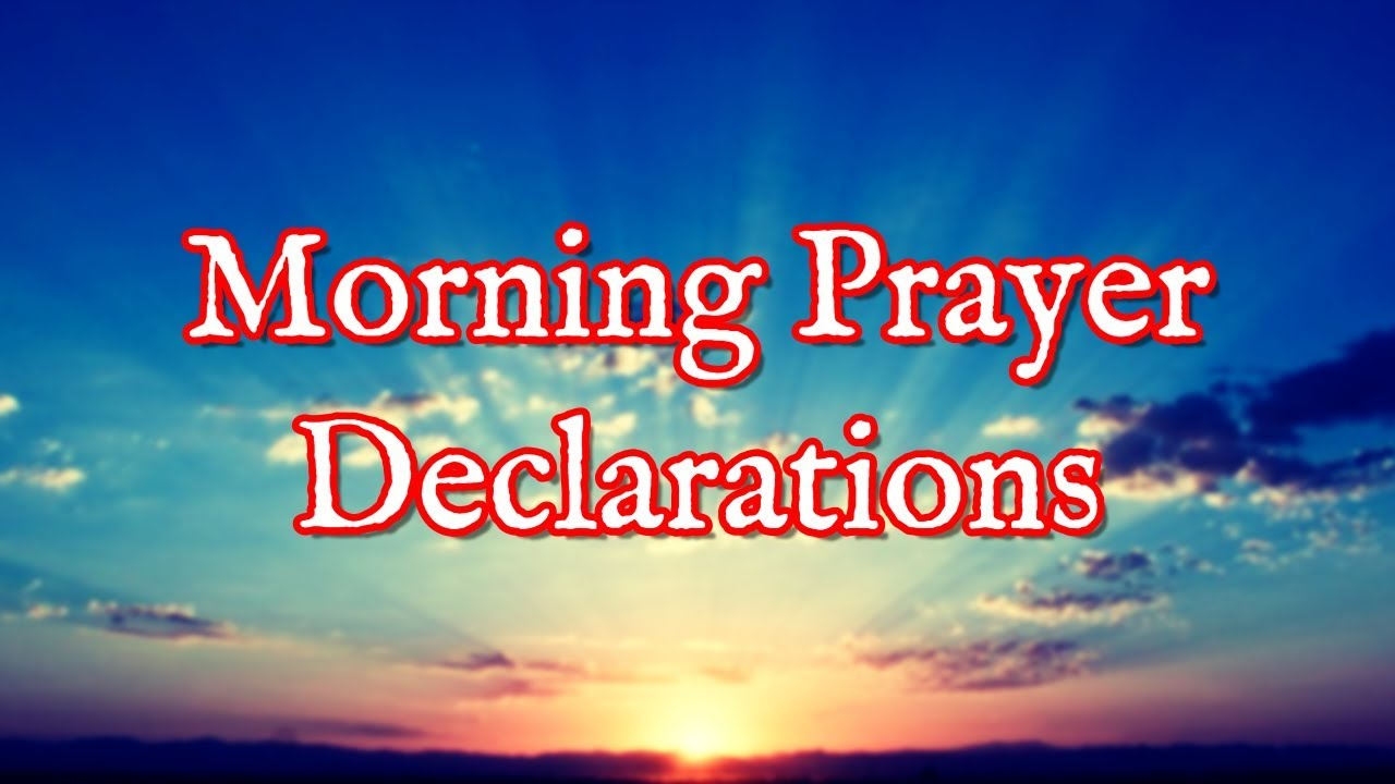 MORNING PRAYERS TO COMMAND YOUR DAY - Dr  D K  Olukoya