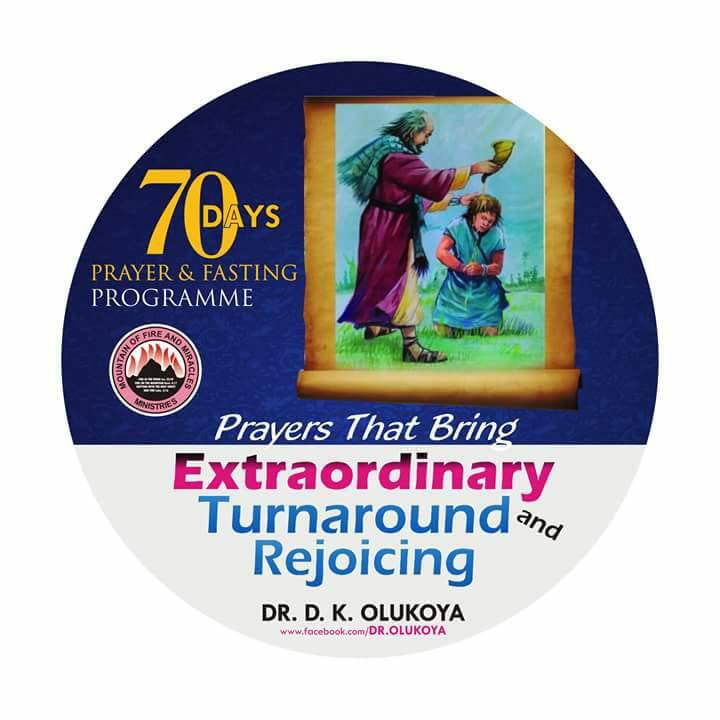 2018: MFM 70 DAYS FASTING AND PRAYER PROGRAMME