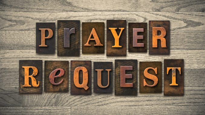 EVANGELIST JOSHUA'S PRAYER ROOM: Submit Your Prayer Requests