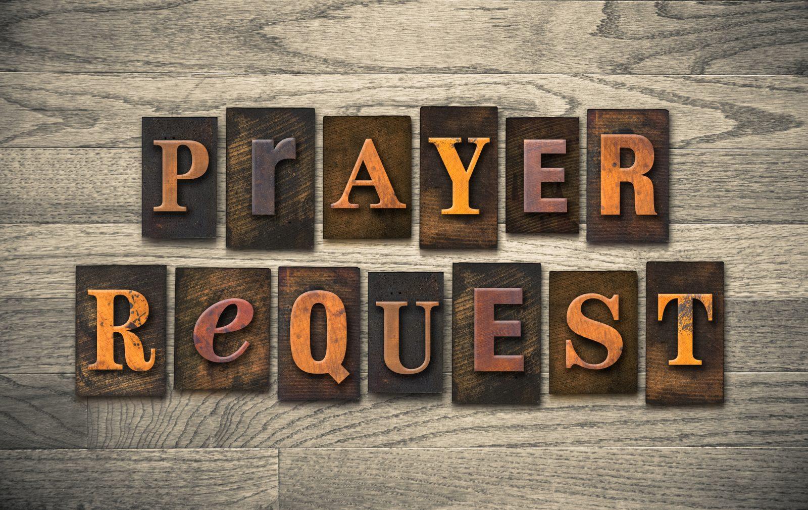 EVANGELIST JOSHUA'S PRAYER ROOM: Submit Your Prayer Requests
