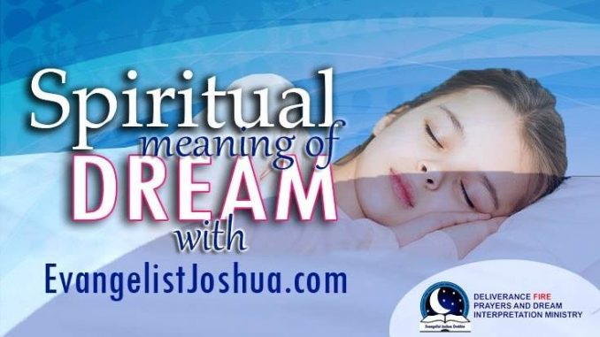 Prayers Against Eating In The Dream - Evangelist Joshua