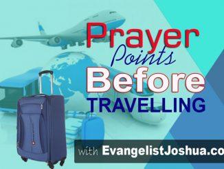 DECLARATION PRAYER FOR JOB BREAKTHROUGH - Evangelist Joshua