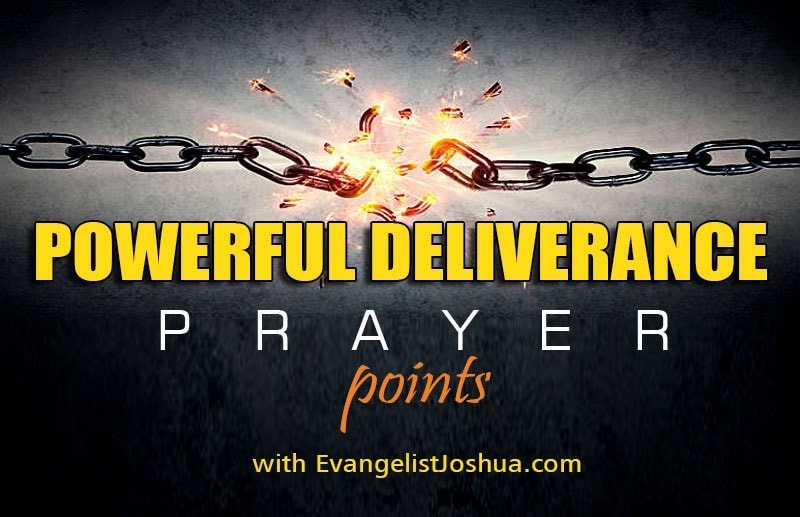 POWERUL PRAYER POINTS WITH SCRIPTURES - EvangelistJoshua com